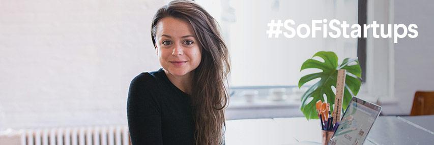SoFi member spotlight on Elien Becque, founder of RoomZoom