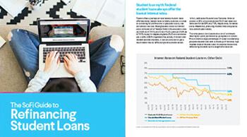 The SoFi Guide to Student Loan Refinancing Thumbnail