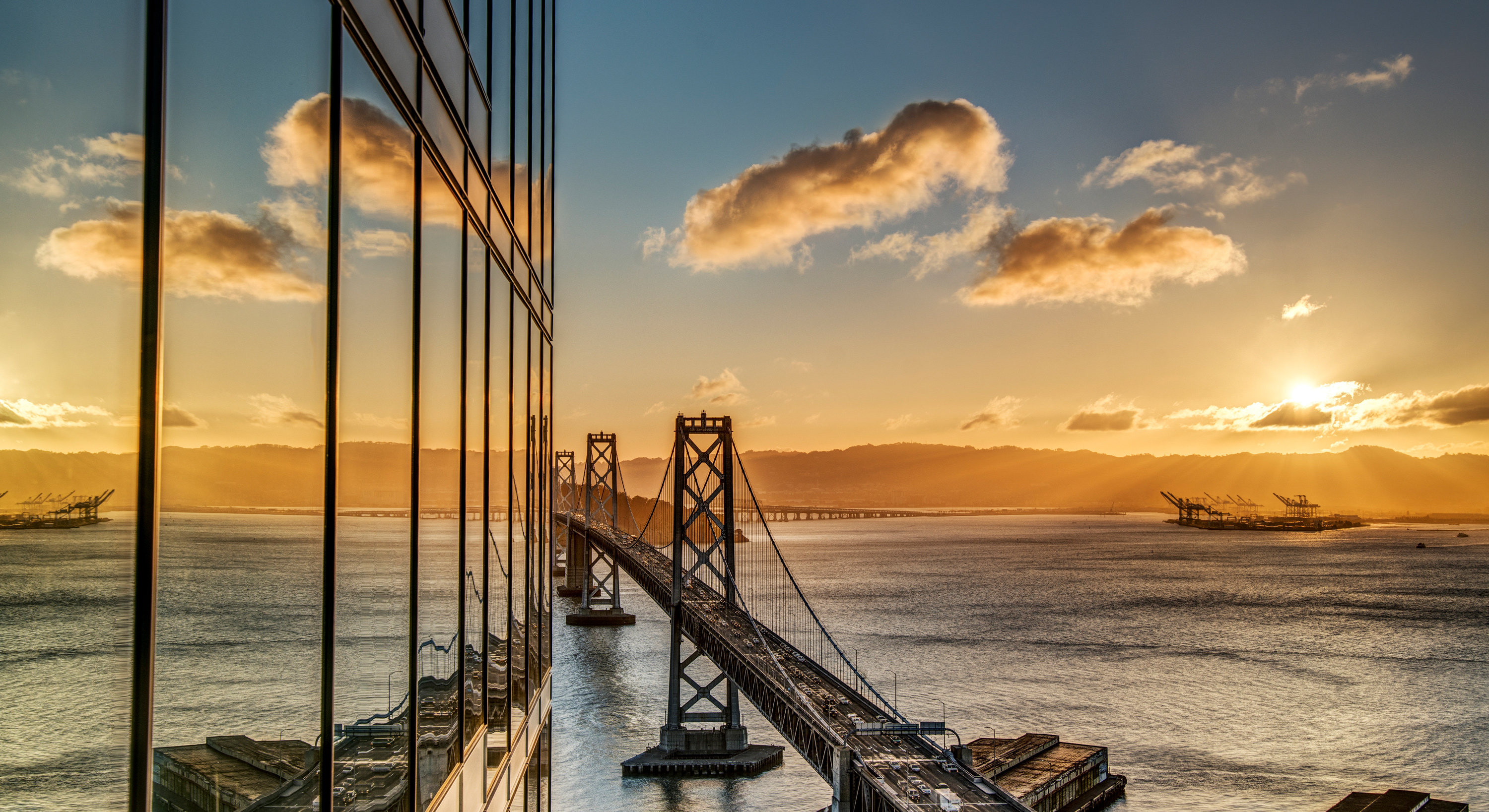 bay bridge, the harrison, luxury condo, san francisco