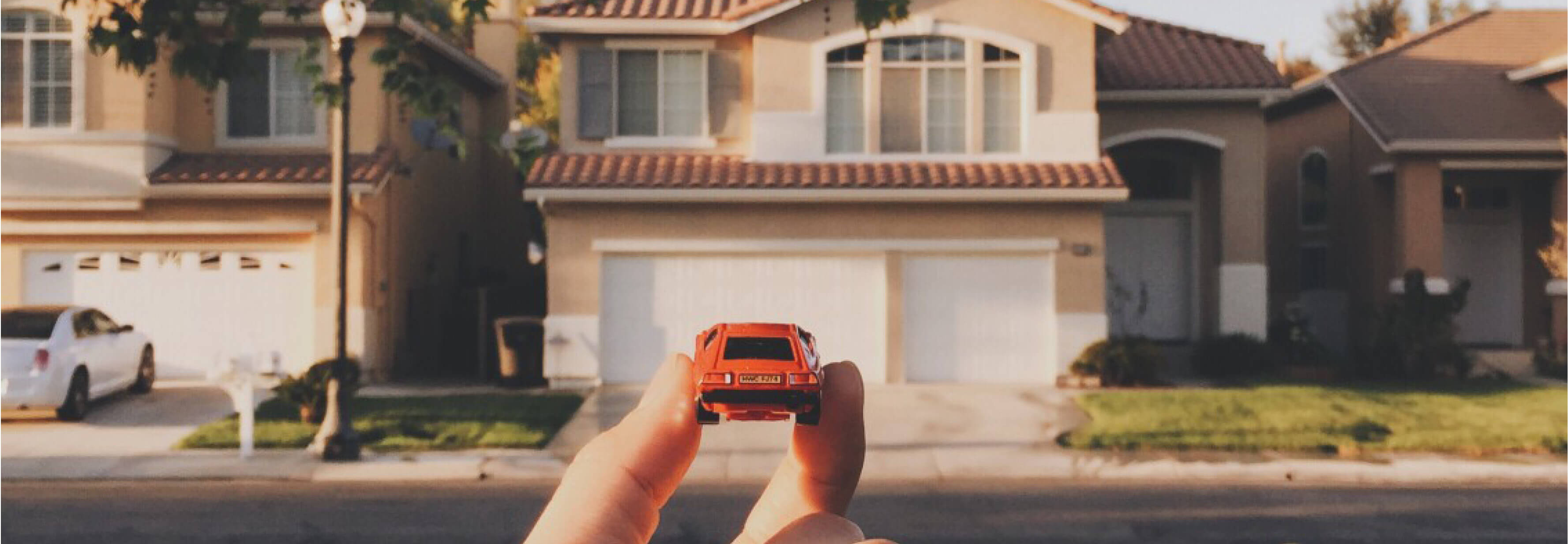 toy car, fantasy, dream house, mortgage
