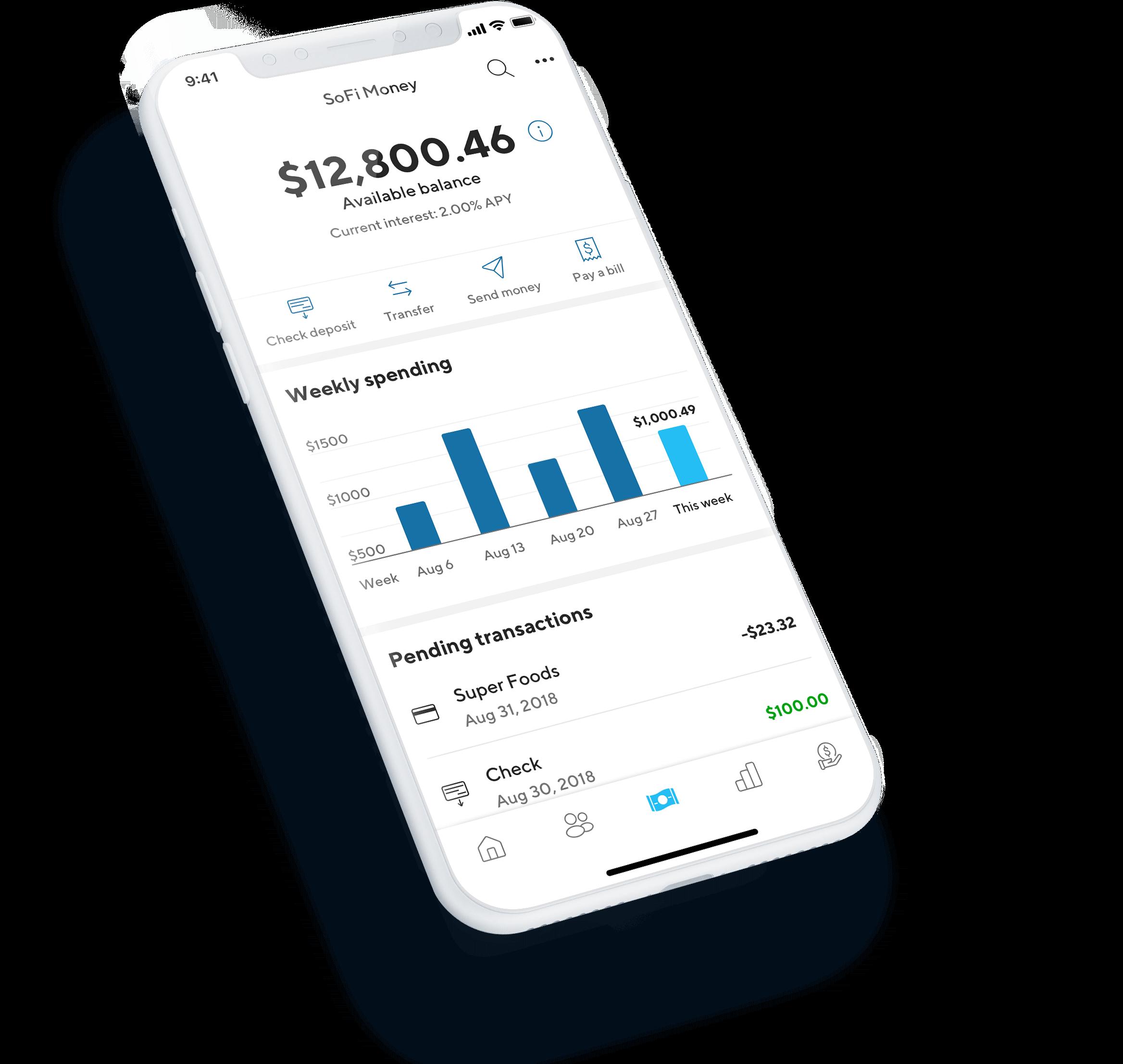 SoFi Money App