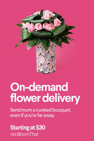 on-demand flower deliver