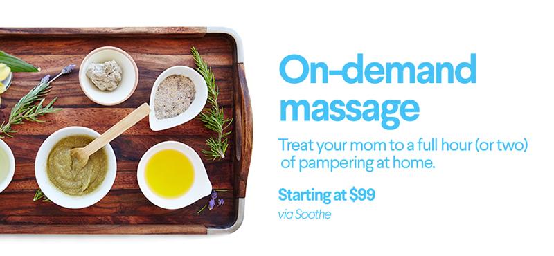 on-demand massage