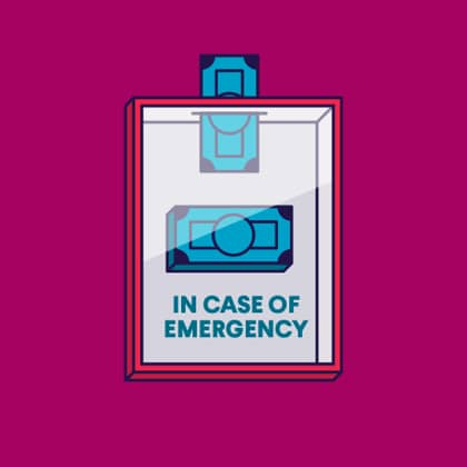 If you don't have an emergency fund…
