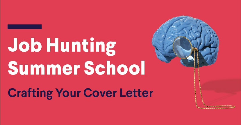 crafting your cover letter