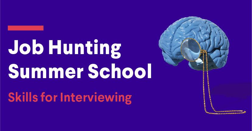 job hunting summer school