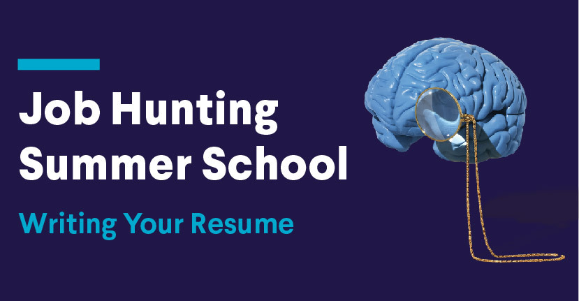 Job Hunting Summer School