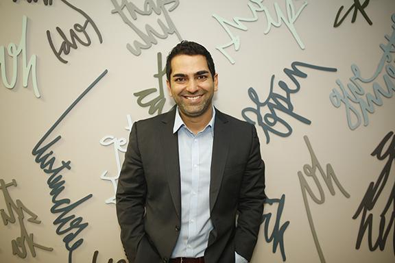 Upkey co-founder Amir Badr