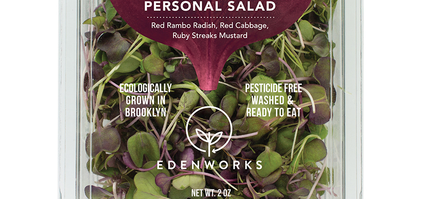 Edenworks Personal Salad available at Whole Foods