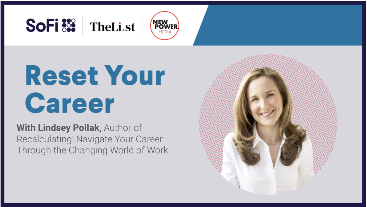 Reset Your Career with Lindsey Pollak