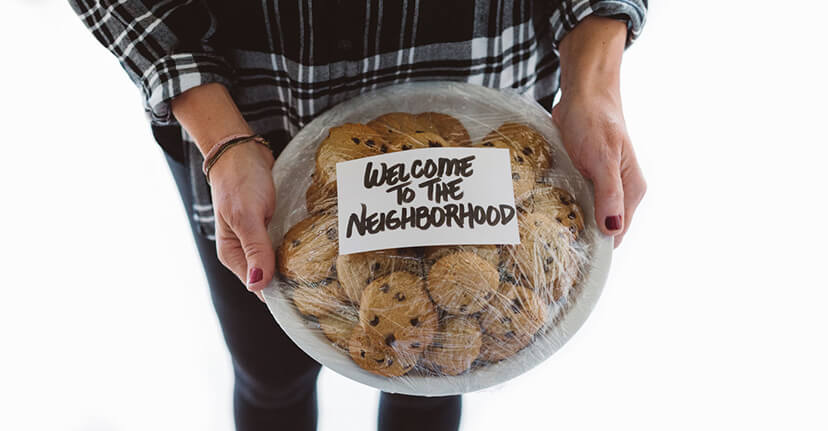welcome to the neighborhood cookies