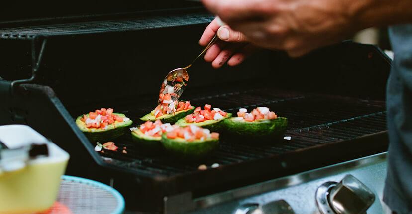 grilling avocado