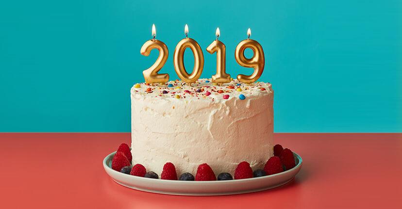 2019 cake