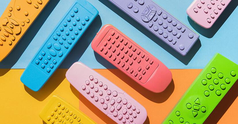 rainbow remote controls